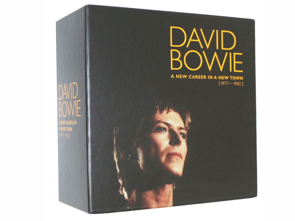 David Bowie CD- A New Career In A New Town Box Set 1977 -1982 Music cd box set Brand New factory sealed top quality dropping. cd диск david gilmour rattle that lock 1 cd
