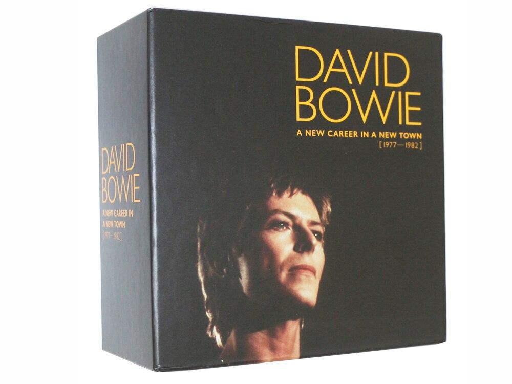 David Bowie CD-Une Nouvelle Carrière Dans Une Nouvelle Ville Boîte Ensemble 1977-1982 Musique cd box set Brand New factory sealed top qualité tomber.