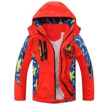Children Jacket Spring Autumn Kids Boys Jackets And Coats 5-14 Years Teenager Boys Clothes Outerwear For Boys Doudoune Enfants