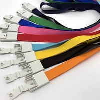 1.5CM Work card hanging rope Hanging cord for exhibition badge 50pcs