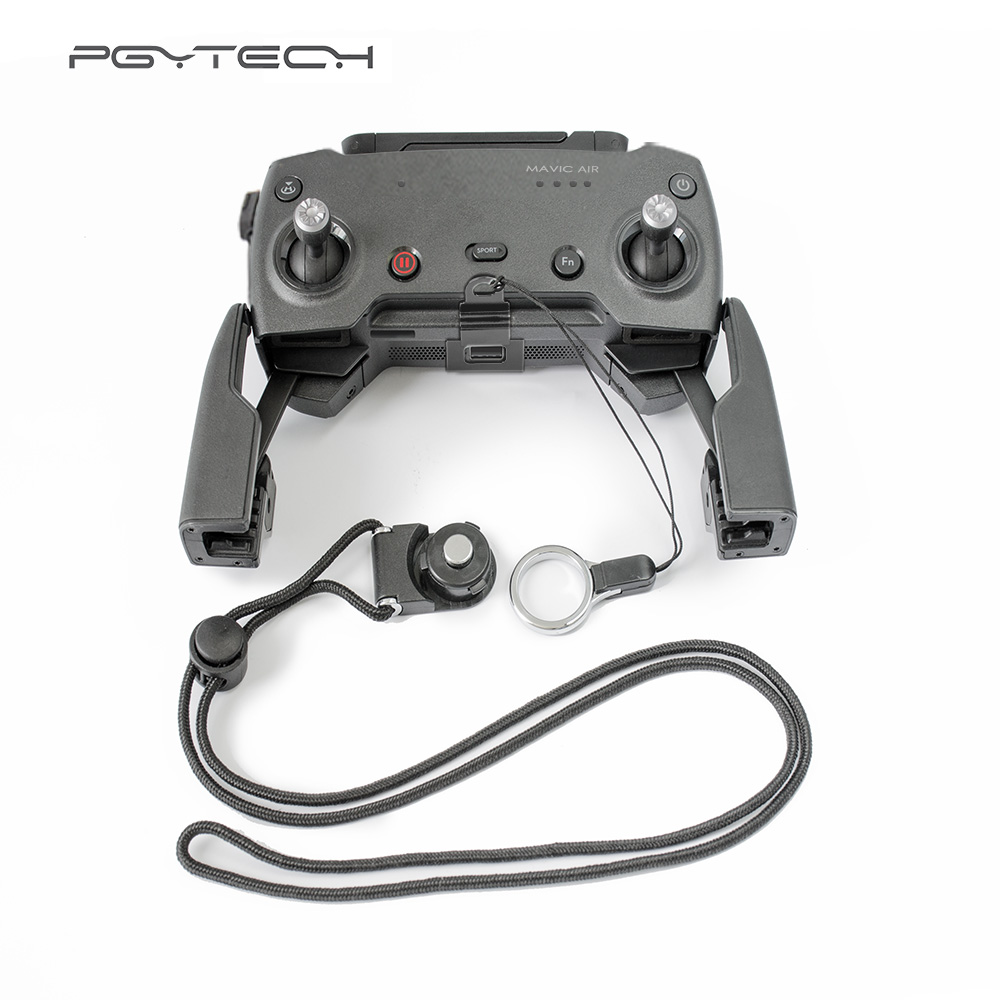 PGYTECH Remote Controller Clasp for DJI Mavic Air Lanyard Adjustable Neck Strap Sling Mavic air Drone Accessories