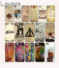 Lavaza 15O Harry Potter Marauders Map Hard Case for iPhone 4 4S 5 5S SE 5C 6 6S 7 8 Plus X XR XS Max