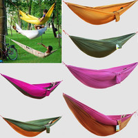 1 Piece Match Work Parachute Cloth Camping Survival Double Wide Spreader Outdoor Indoor Hammock H1238