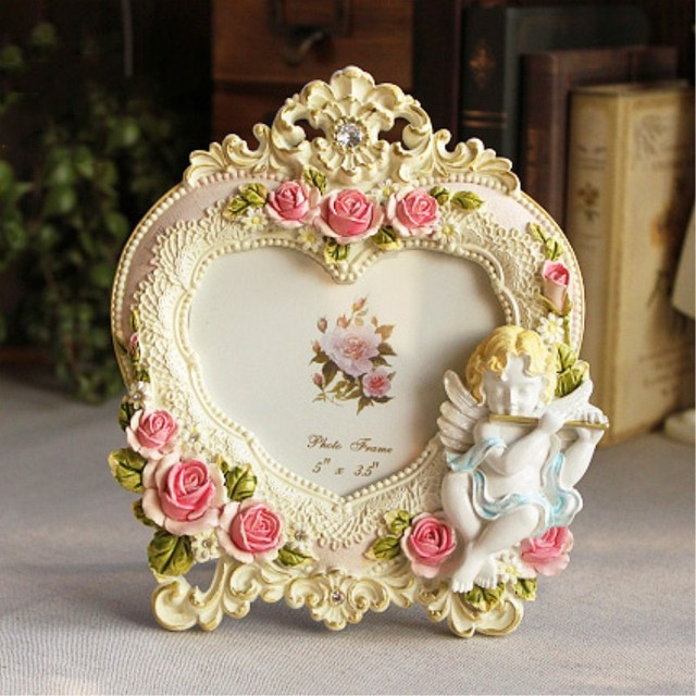 5 Inch Creative Picture Frame Children Heart Shaped Photo Frame Baby