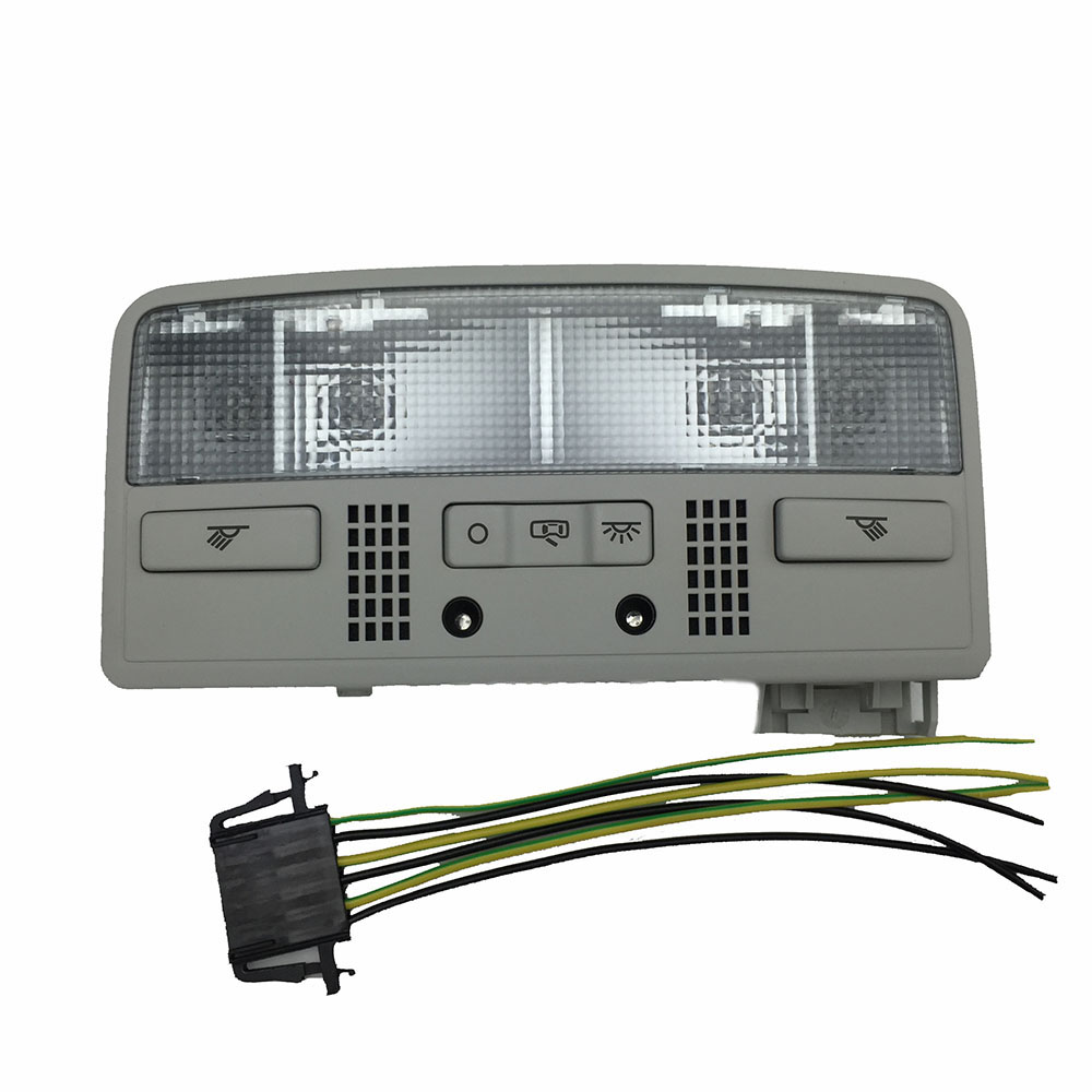Gray Color Dome Light Interior Reading Lamp for VW Passat B5 3BD 947 105 2EN