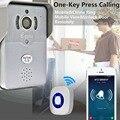Эбелл DBV01P Смартфон 3 Г 4 Г Wi-Fi Видео 720 P Камеры Интерком дверной звонок ИК Ночного Видения IP Домофон Разблокировать Функцию С приложение