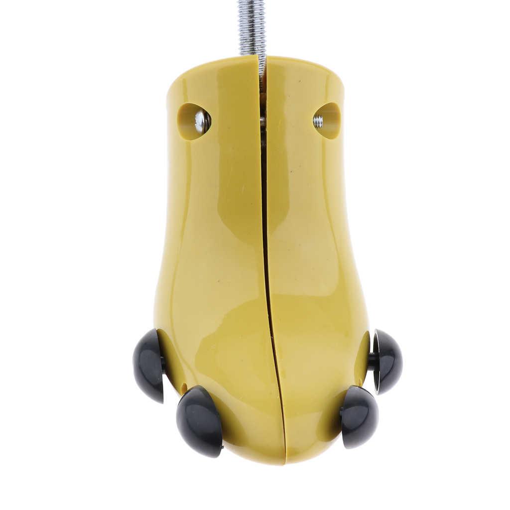1 adet Pratik Ayakkabı Ağacı Çizmeler Yüksek Topuklu Sedye Genişletici Desteği Sedye Şekillendirici Bayan Ayakkabıları Pembe Sarı