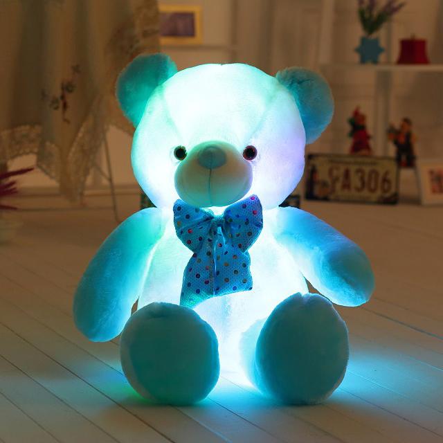 Super Big Luminous Teddy Bear Soft Plush Toy