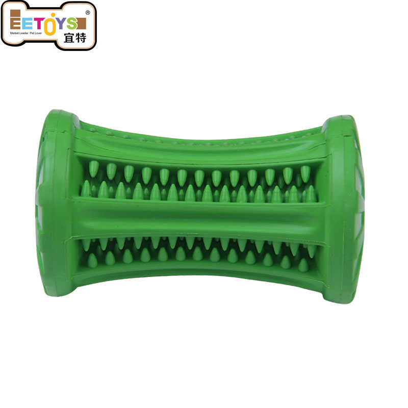 Pet Dog Training Tools Dog Puppy Chew Toy Food Dispenser Leakage rod Pet Animal Snack Holder tooth cleaning rubber