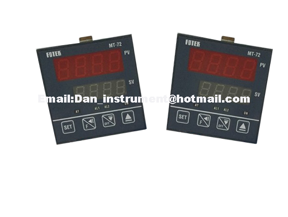 Original Taiwan Fotek MT72-R 72*72mm Temperature Controller MT-72R Temperature Control Fuzzy+PID or ON/OFF settable taie thermostat fy800 temperature control table fy800 201000