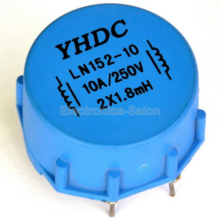 10 AMP 1.8mH Epoxy Resin Embedding Common Mode Choke, Inductor. lacywear u 19 teh