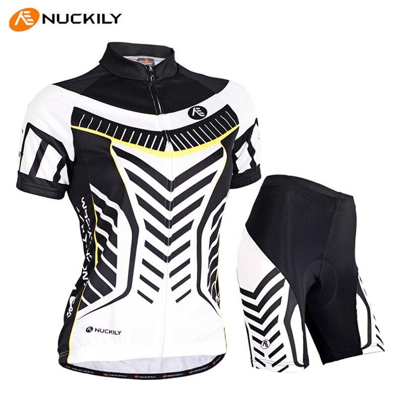 003 Nuckily Men/'s Mountain Bike Sports Short Sleeves Cycling Jersey+Shorts Set