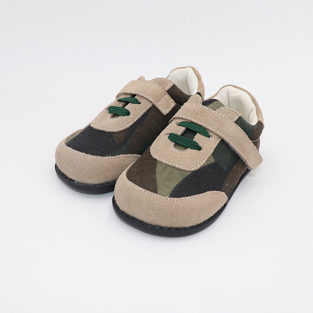 TipsieToes Top Brand High Quality Genuine Leather Stitching Kids Children Shoes Barefoot For Boys 2020 Spring New Arrival 5