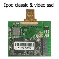 128GB 256GB 512GB SSD For Ipod classic 7Gen Ipod video 5th Replace MK3008GAH MK6008GAH MK801GAH MK1634GAL Ipod HDD hard disk