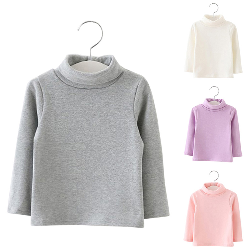 Baby Girls Long Sleeved High Neck T-shirt Basic Cotton Winter Autumn Tops BM88 antares h glxt 1474h черное золото elektrostandard