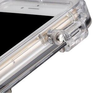 Image 4 - Spor iPhone 6 için 6S artı su geçirmez cep telefonu kılıfı ile 170 derece geniş açı Lens ile uyumlu goPro aksesuarları