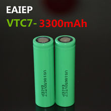 2 шт. EAIEP новый оригинальный US18650VTC7 3300 мАч литий-ионный аккумулятор 18650 3,7 В аккумуляторная батарея EAIEP