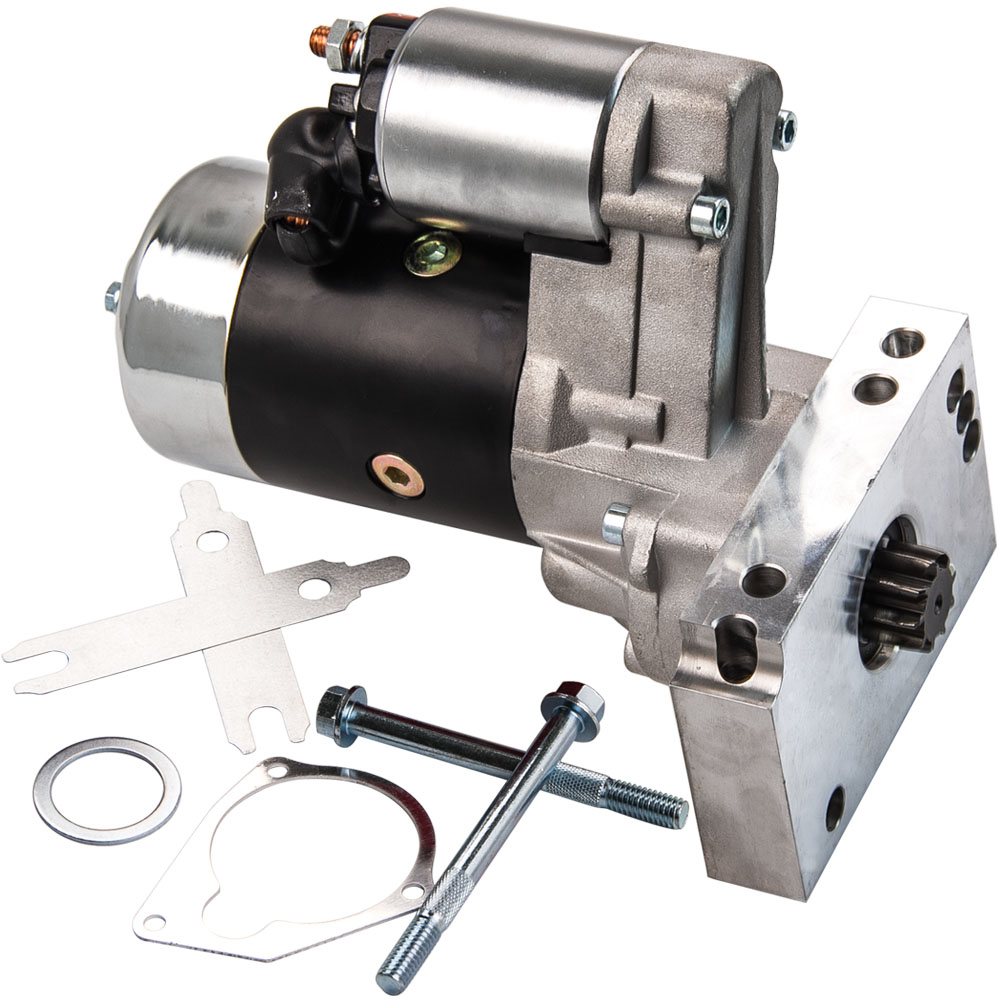 700HP Small and Big Black Starter Motor For CHEVY GM HD Mini 3HP 305 350 454 ATP   - title=