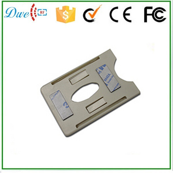 DWE CC RF Free shipping white color  UHF PVC card holder  using in car windowshield for parking system 100pcs lot printable pvc blank white card no chip for epson canon inkjet printer suitbale portrait member pos system