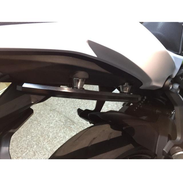 waase For Kawasaki Ninja 650 2017 2018 2019 Rear Grab Bars Rear Seat Pillion Passenger Grab Rail Handle