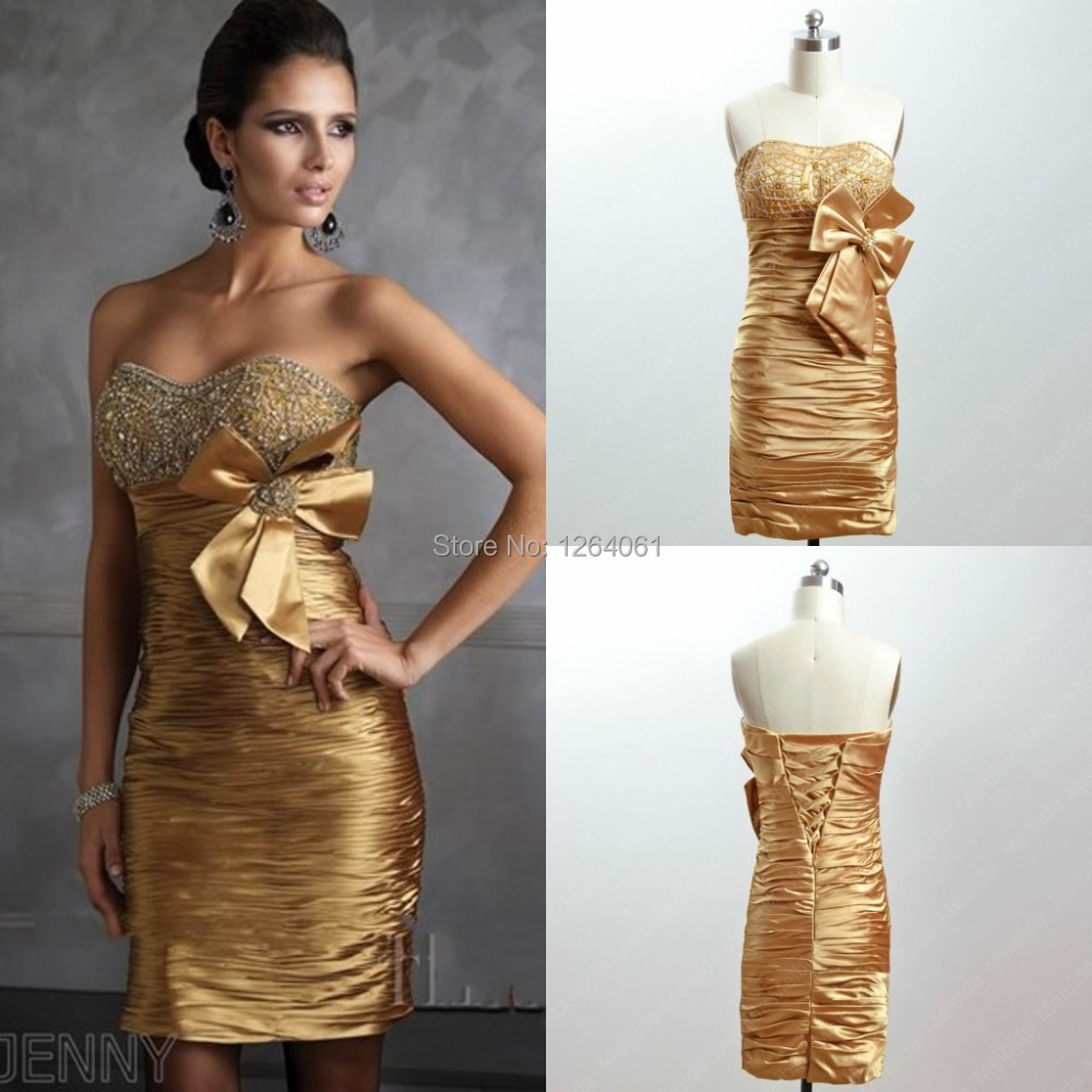 Gold Mother of Bride Dresses Promotion-Shop for Promotional Gold ...