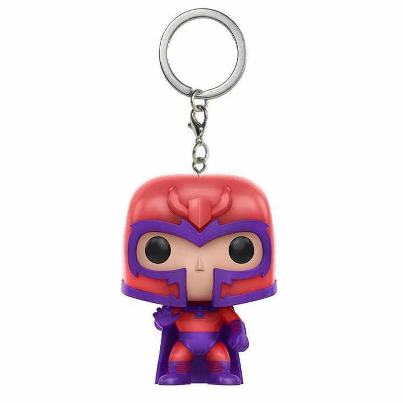 2018 новые Поп модные игрушки брелок Marvel Капитан Америка Железный человек Groot брелок Дети Чудо Женщины Сумка для ключей кулон ювелирные изделия