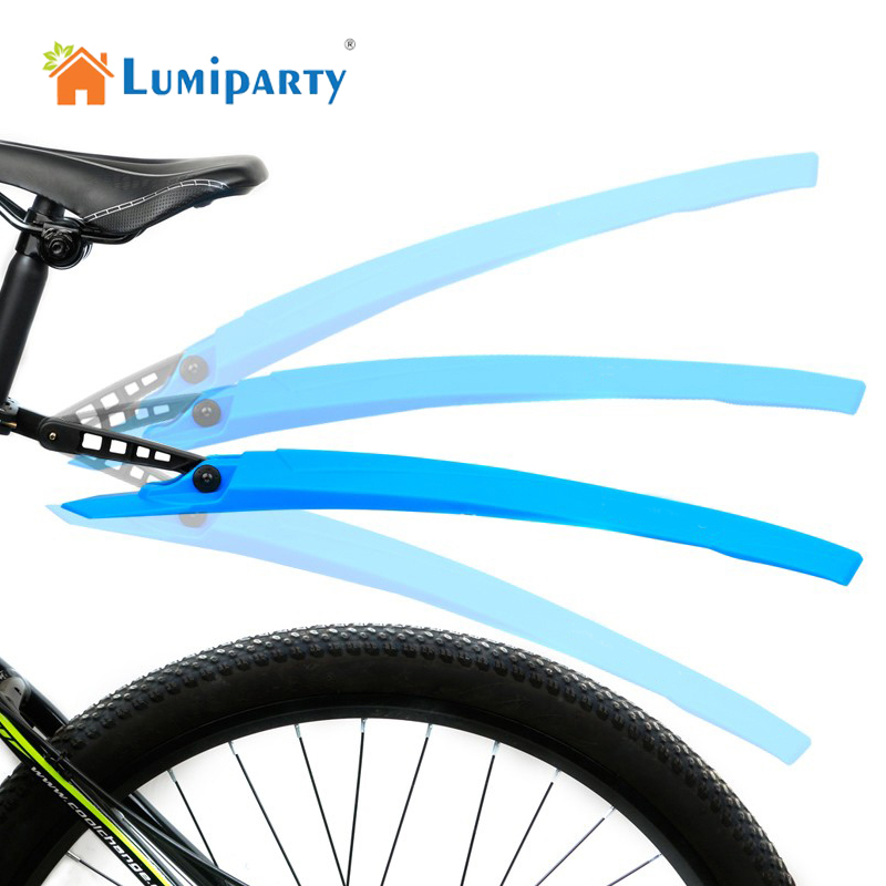 LumiParty Tragbare Fahrradschutzbleche Radfahren Mountainbike Schmutzfänger Schutzblech-set 4 Farben guardabarros bicicleta mtb