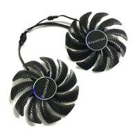 AORUS RX580 570 GPU Cooler Graphics Card Fan For REDEON GIGABYTE GV RX570AORUS GVRX580AORUS As