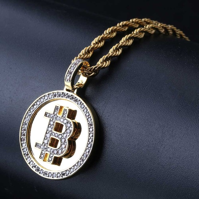 Bitcoin Bling Bling Pendant 3