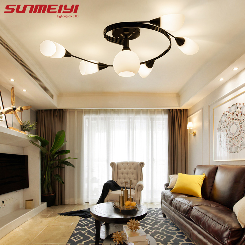 New LED Ceiling Lights luminaire plafonnier Surface Mount Indoor Lighting For Bedroom Living Room Kitchen lampara techo led