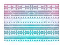 Floor Mat Pink Green Aztec Stripe Geometric Print Non-slip Rugs Carpets alfombra For Indoor Outdoor living kids room