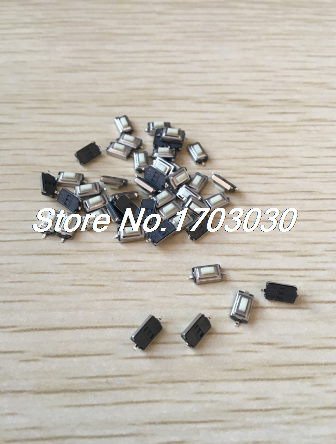 100 Pcs Momentary Tact Tactile Push Button Switch SMD SMT PCB 2 Pin 3 x 6 x 2.5mm 50pcs lot 6x6x4 3mm 4pin smt g88 tactile tact push button micro switch self reset dip top copper free shipping