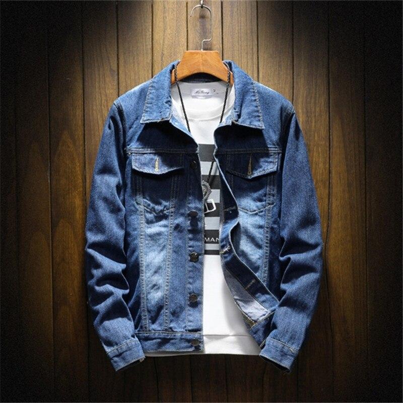 100% QualitäT Herren Jeans Jacken Outwear Männlichen Cowboy Jaqueta Jeans Masculina Herbst Winter Jean Jacke Kleidung Denim Jacke Mode Jacke Neueste Technik