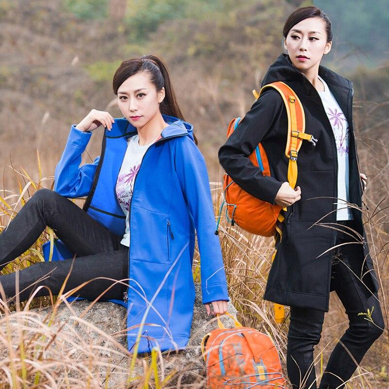 2019 nouvelle marque de femmes polaire Softshell vestes thermiques en plein air imperméables manteaux randonnée escalade Trekking femme coupe-vent