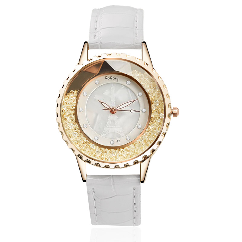 2018 New Hot Sell Quartz Watch Women Gogoey Brand Luxury Leather Watches Ladies Popular Casual Fashion Watch Relogios Femininos quartz watch women gogoey brand luxury leather watches ladies popular casual fashion gold watch relogios femininos reloj mujer