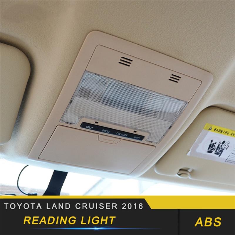 Для Toyota Land Cruiser 2016, автомобильный Стайлинг, светильник для чтения, панель, накладка, рамка, наклейка, аксессуары для интерьера
