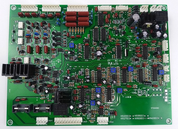 KR 350 KR500 CO2 Gas Shielded Welding Machine Accessories Main Control Circuit Board PCB Mail nbc350 500 gas shielded welding machine control board single tube igbt two welding machine 350 circuit board main board