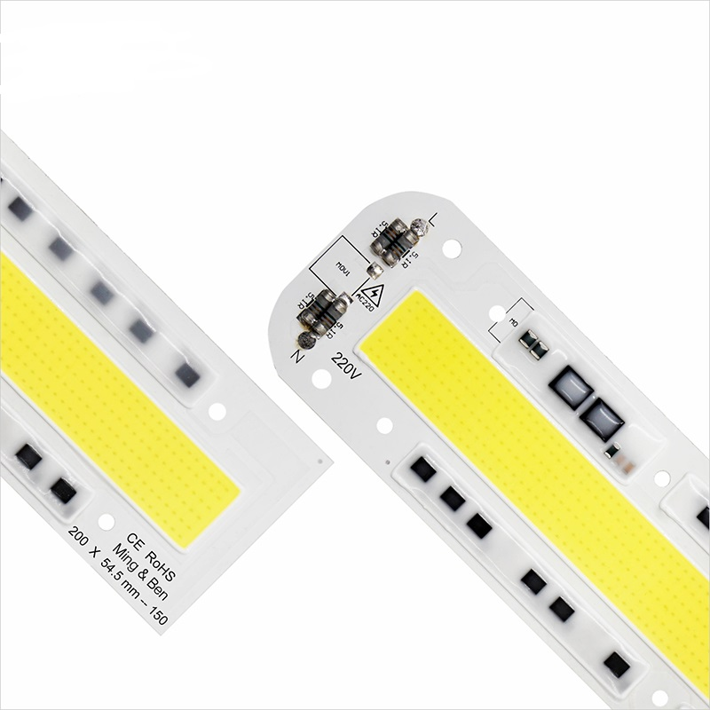 LED High Power Chip Light Beads 30W 50W 70W 100W 150W AC 110V 220V IP65 Smart IC LED COB Beads For DIY LED Floodlight Spot Light