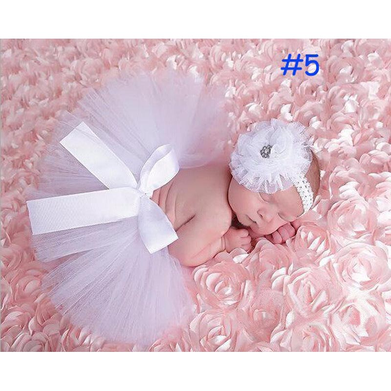 Baby-Infant-Girl-Tutu-Skirt-and-Flower-Headband-Photography-Fluffy-Skirt-Newborn-Princess-Christmas-Skirt-0-6-months-Baby-Gift-5