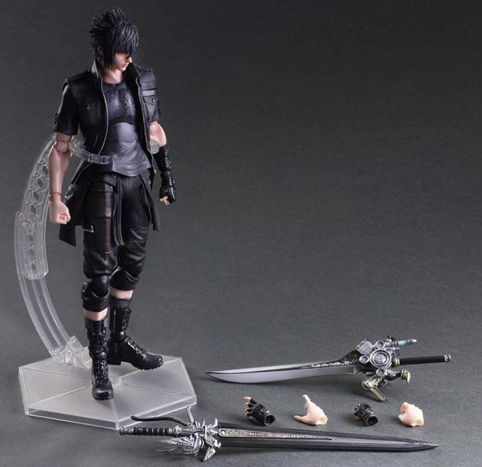 Free Shipping 11 PA KAI Game FF 15 Noctis Lucis Caelum Boxed 27cm PVC Action Figure Collection Model Doll Toy Gift new game ashe action figure collectible model toy pvc 23cm game figures doll brinquedos juguetes hot sale free shipping