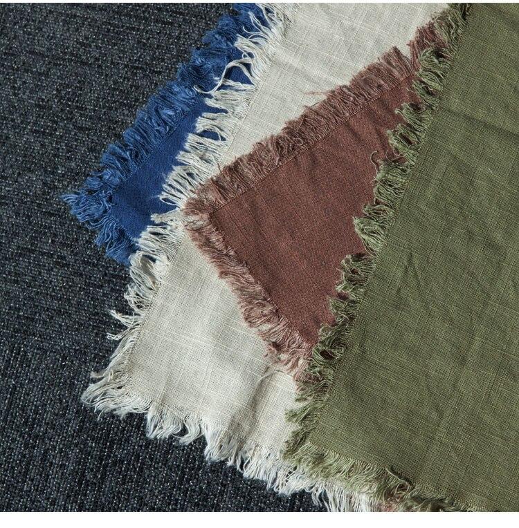 Junwell 2 unids lote 46x63 cm Lino pesado algodón dishtowel toalla de  cocina Toalla de plato toalla Limpieza té toalla ultra Durable Pano 642e46da5495