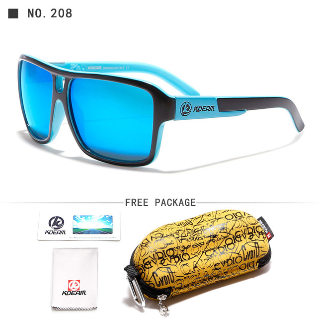 Top Selling Jams Style Polarized Sunglasses Men Color-Mix Outdoor Sun Glasses For All Face With Skull Zip Box KD520