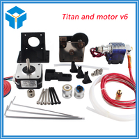 TEVO Titan Extruder Full Kit With NEMA 17 Stepper Motor For 3D Printer Ssupport Both Direct