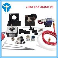TEVO Titan Extruder Full Kit With NEMA 17 Stepper Motor For 3D Printer Ssupport Both Direct