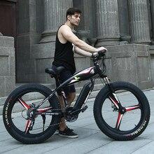26 Электрический снег горный велосипед 4.0 шины подходят зимние шины Мощный высокой скорости двигателя привод для бездорожья литиевая батарея пляжные Ebike ATV