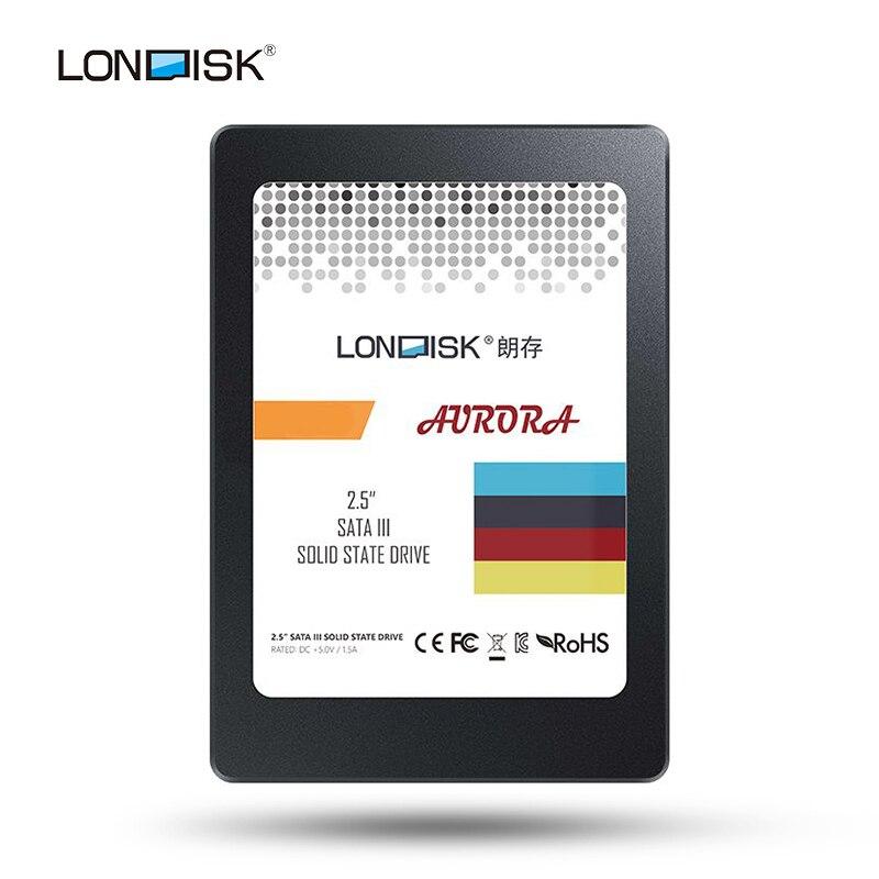 купить Londisk SSD 120GB 240GB 480GB 960GB Interne Solid State Disk 2,5 zoll SATA3 HDD Festplatte for laptop PC SSD 120 240 480GB по цене 2019.53 рублей