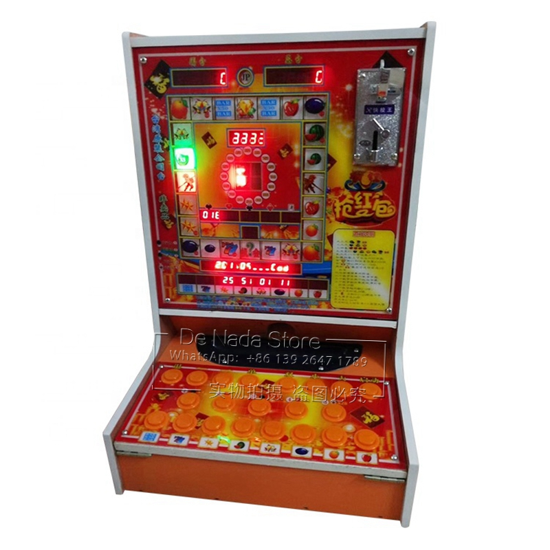 Wooden Slot Machine Africa Love Coin Operated Fruit Games Jackpot