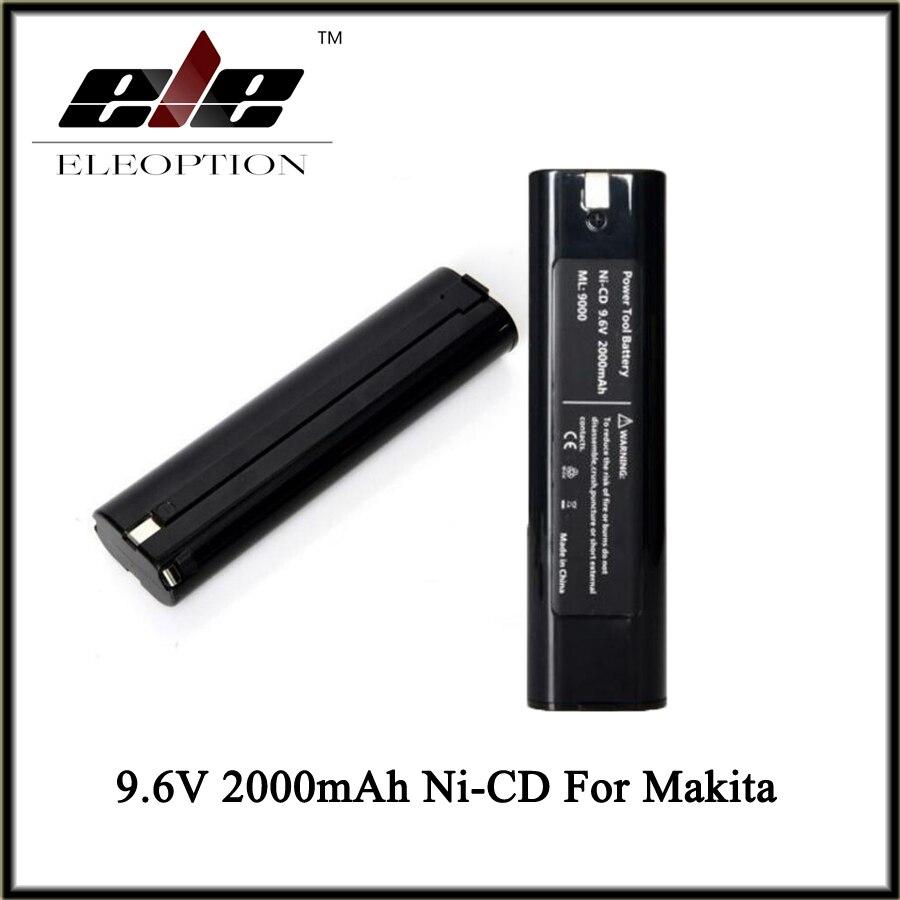 2x 3.0AH 9.6V Ni-MH Akku für Makita 9000 9001 9002 9033 9600 6095D ML900 6900D