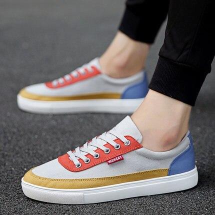 cinza Casuais Todos Novos Qualidade Homens A Coreano De Os Baixos Tendência 2017 Azul Alta Sapatos Estudantes vermelho Jogo FwpXa
