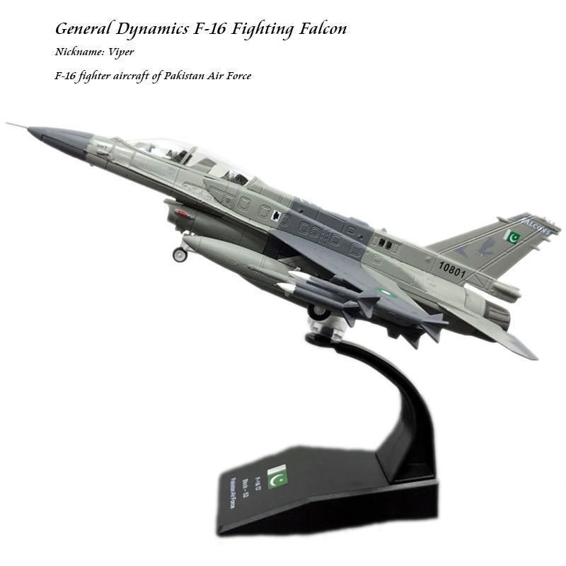 USA PAKISTAN F-16 1//72 DIECAST Aircraft plane Model
